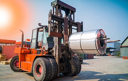 Forklift loading Cold Rolled Fullhard